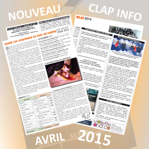 Clap Info Avril 2015
