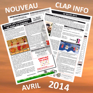 Clap Info Avril 2014