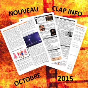 Clap Info Novembre 2015