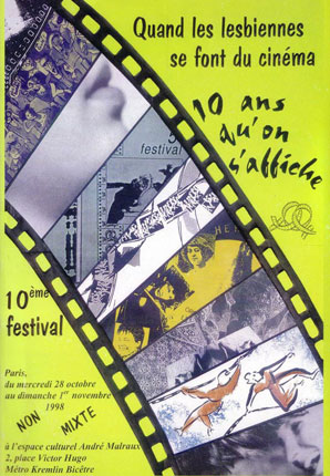 Poster of the 10th Festival 1998